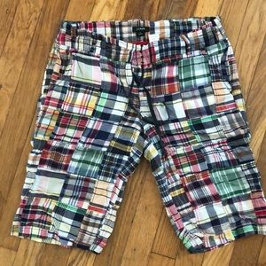 J.Crew Madris Shorts